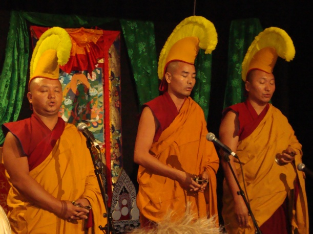 Tibetan Buddhist Monks at Happiness Conference, Sydney 2010